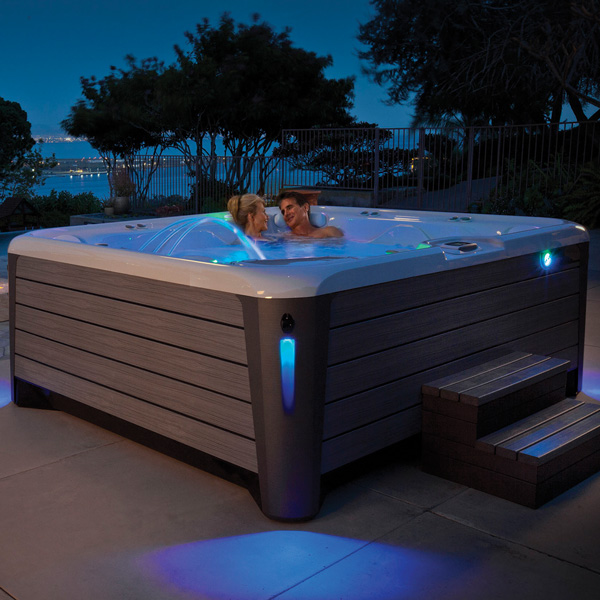 Request Hot Tub Pricing Family Image