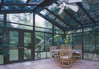 Gl Cathedral Roof Sunroom Or Patio Room With Aluminum Frame