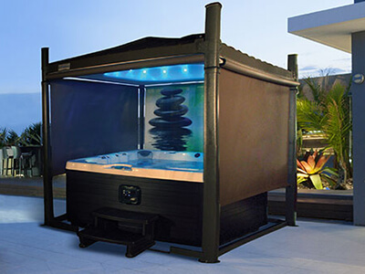 Covana Gazebo Hot Tub Cover Hotspring Spas And Pool Tables 2