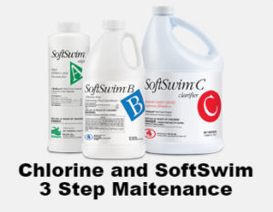 This is a thumbnail for a chlorine and softswim article.