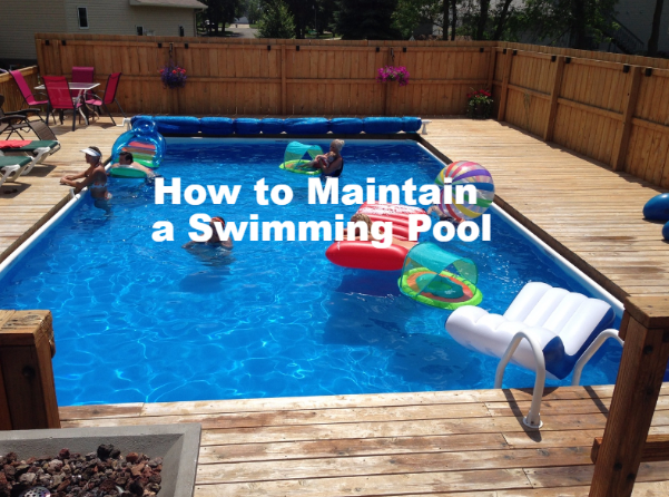 How to Maintain a Swimming Pool Family Image