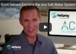 This is a thumbnail for an article about the ace salt water system.