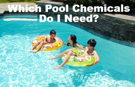 Which Pool Chemicals Do I Need? Family Image