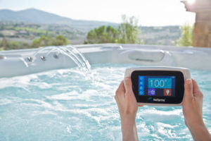 Wireless remote control for hotspring hot tub