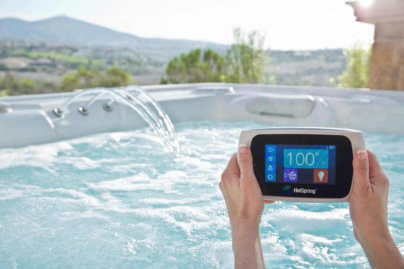 HotSpring Hot Tub Wireless Remote Family Image