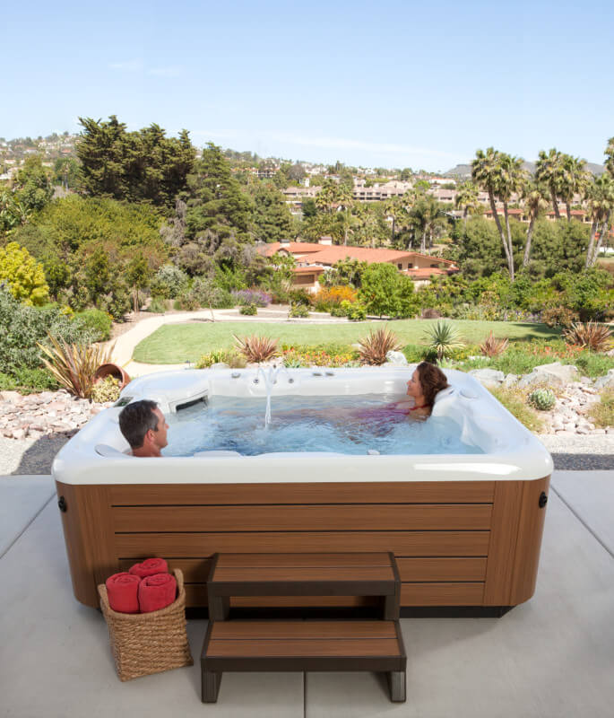 What Should I Put My Hot Tub On? Family Image