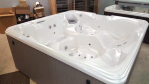 Here is a used hot tub for sale from HotSpring Spas and Pool Tables 2