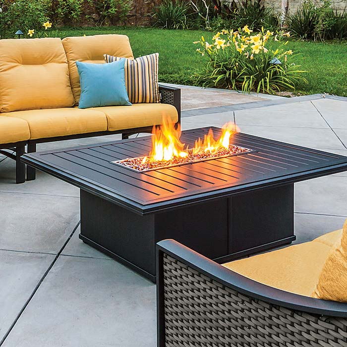 perks of a tropitone fire table - Tropitone Patio Furniture