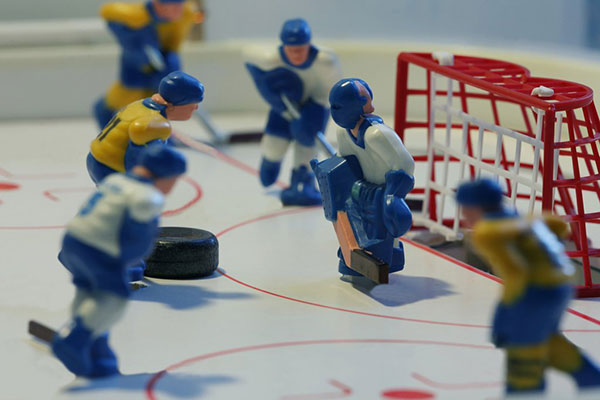 Bubble Hockey Family Image