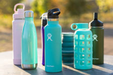 Variety of Reusable Water Bottles